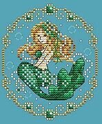 May - Treasures of the Deep - Cross Stitch Pattern