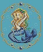 September - Treasures of the Deep - Cross Stitch Pattern