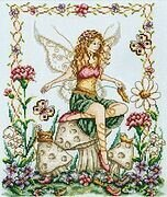 Shoe Fairy - Cross Stitch Pattern
