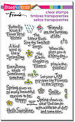 Spring Sentiments Perfectly Clear Stamp