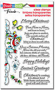 Snowman Wishes Perfectly Clear Stamps Set