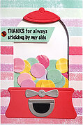 Gumball Greetings - Perfectly Clear Stamp