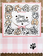 Puppy Frame Set - Perfectly Clear Stamp