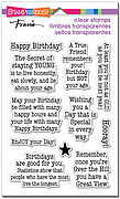 Birthday Age Set - Perfectly Clear Stamp