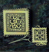 Blackwork Needlebook & Fob - Cross Stitch Pattern