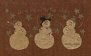 Dancing with the Stars - Christmas Cross Stitch Pattern
