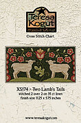 Two Lamb's Tails - Cross Stitch Pattern