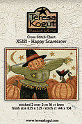 Happy Scarecrow - Cross Stitch Pattern
