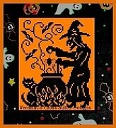 Witch's Brew - Cross Stitch Pattern