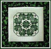 Shamrock Circle - Cross Stitch Pattern