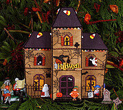Gingerbread Haunted House - Cross Stitch Pattern