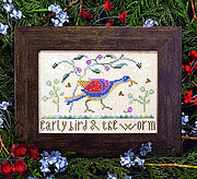 Early Bird - Cross Stitch Pattern