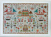 Anglesey Reproduction Sampler - Cross Stitch Pattern