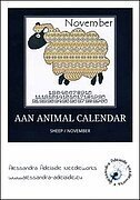 AAN Animal Calendar - November/Sheep