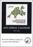 AAN Animal Calendar - Frog/June