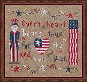 Every Heart - Cross Stitch Pattern