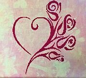 Tribal Love - Cross Stitch Pattern