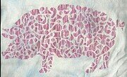 Tribal Pig - Cross Stitch Pattern