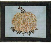 Tribal Pumpkin - Cross Stitch Pattern