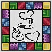 Morning Coffee - Cross Stitch Pattern