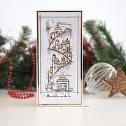 Peaceful Night - Christmas Clear Singles Stamp