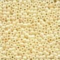 Cream Glass Beads - Size 11/0 (2.5mm)