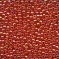 Christmas Red Glass Beads - Size 11/0 (2.5mm)