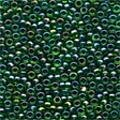 Emerald Glass Beads - Size 11/0 (2.5mm)