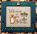 Welcome to the Nuthouse - Cross Stitch Pattern