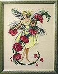 November Topaz Fairie - Mirabilia Cross Stitch Pattern