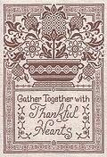 Thankful Hearts - Cross Stitch Pattern