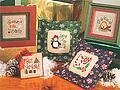 Tiny Tidings XII - Cross Stitch Pattern
