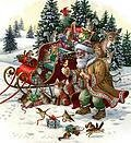Woodland Santa 2 - Cross Stitch Pattern