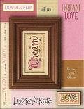 Living Double Flip - Dream/Love - Cross Stitch Pattern