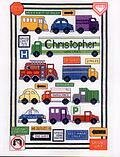 Traffic Sampler - Cross Stitch Pattern