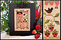 Strawberry House - Cross Stitch Pattern