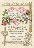 All Because - Cross Stitch Pattern
