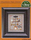 Halloween Tree: Spooky - Cross Stitch Pattern