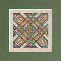 Celtic Quilts: Kentucky Chain - Cross Stitch Pattern