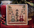Ornament 1 - Fa La La - Cross Stitch Pattern