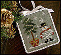Ornament 3 - He's a Flake - Cross Stitch Pattern