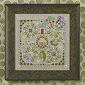 Pea's & Q's - Cross Stitch Pattern