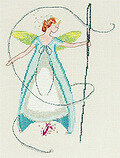 Needle Fairy (Stitching Fairies) - Cross Stitch Pattern