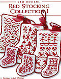 Red Stocking Collection I - Cross Stitch Pattern