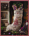 Sadie's Stocking - Cross Stitch Pattern