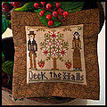 2011 Ornament 3 - Deck The Halls - Cross Stitch Pattern