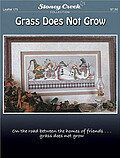 Grass Does Not Grow - Cross Stitch Pattern