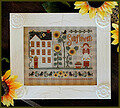 Little Miss Sunflower - Cross Stitch Pattern