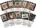 Mini Card Set A - Cross Stitch Pattern