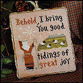 2011 Ornament 12 Good Tidings - Cross Stitch Pattern